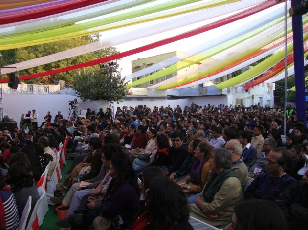 Audience at the Festival