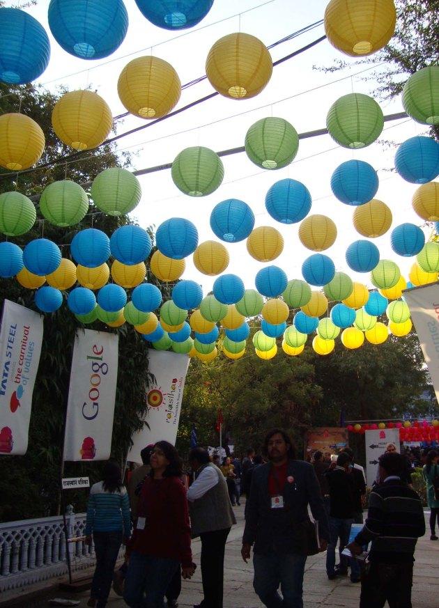 Decor at the festival 2
