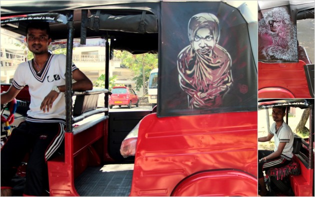 "Ranga, with his tuk. I liked the curiously apt quote on his tuk: ""The eyes are useless when the mind is blind"